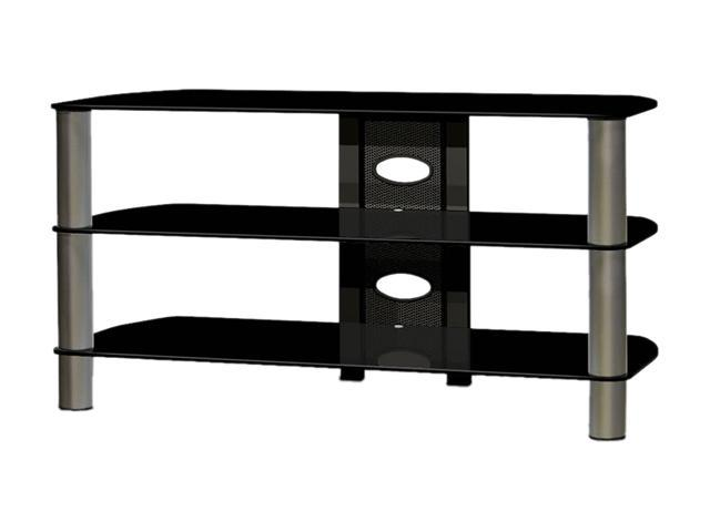 """TECH CRAFT BEL410B Up to 47"""" Black 41"""" Wide TV Stand"""