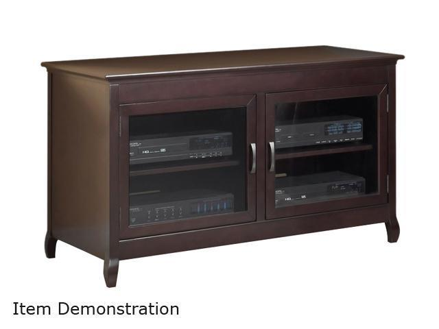 "TECH CRAFT XLN48 Up to 50"" Espresso Veneers Hi-Boy (28"" High) Credenza"