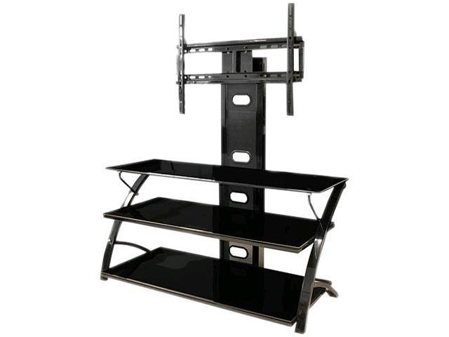 tech craft fpd44b black tv stand. Black Bedroom Furniture Sets. Home Design Ideas