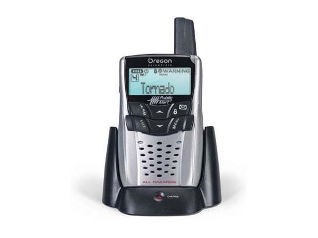 Oregon Scientific Portable Public Alert Radio WR602