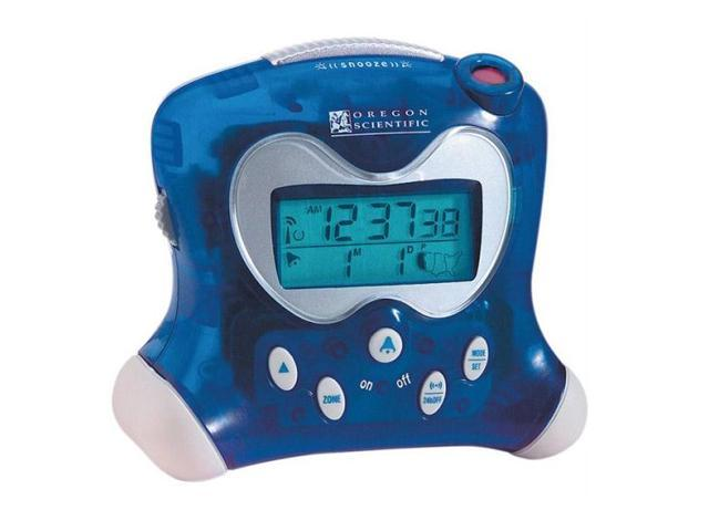 Oregon Scientific RM313PNA-B Blue Hip & Cool Projection Clock with Temperature
