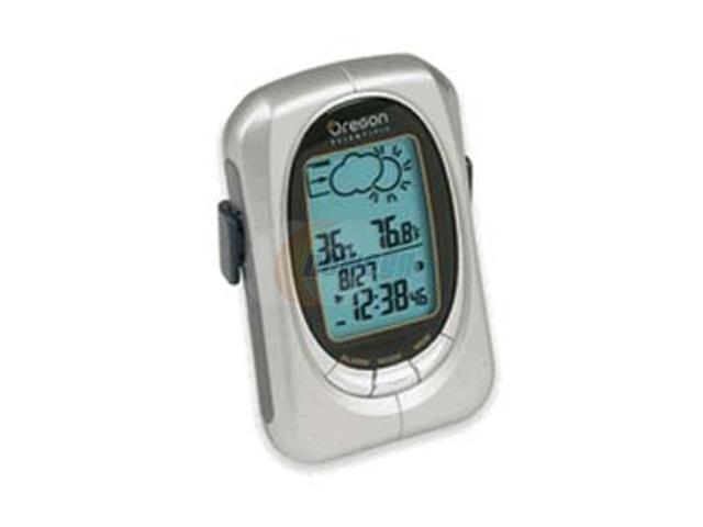 Oregon Scientific EB313HGA Handheld Weather Forecaster with Alarm Clock