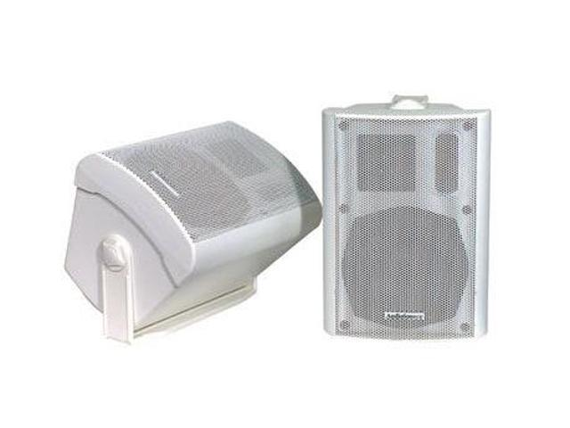 "AudioSource LS-545 5"" 2-Way Indoor/Outdoor White Speakers Pair"