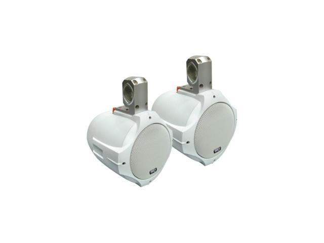 "Pyle 6.5"" 200 Watts 2-Way White Wake Board Speaker"