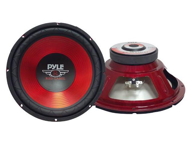 "Pyle PLW12 12"" 800 Watts Subwoofer, Red"