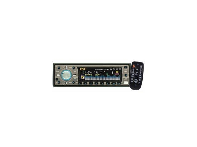 PYLE In-Dash CD Receiver w/ USB & Detachable Face