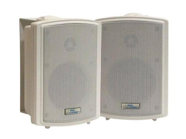 "PYLE PD-WR33 3.5"" Indoor/Outdoor Waterproof Wall Mount Speakers Pair"