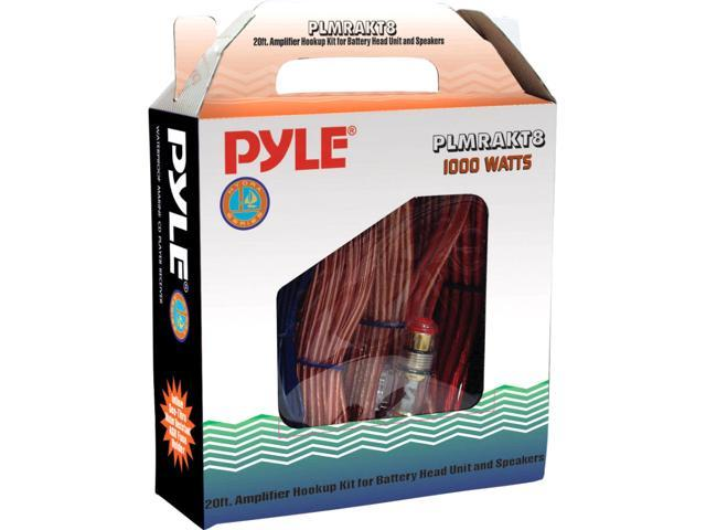 Marine Grade 8 Gauge Amplifier Installation Kit