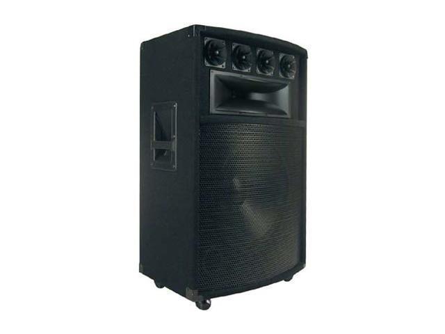 "PYLE PADH1589 800 Watt 15"" Six-Way Speaker Cabinet Single"