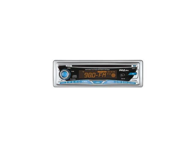 PYLE In-Dash CD Receiver w/ Detachable Face