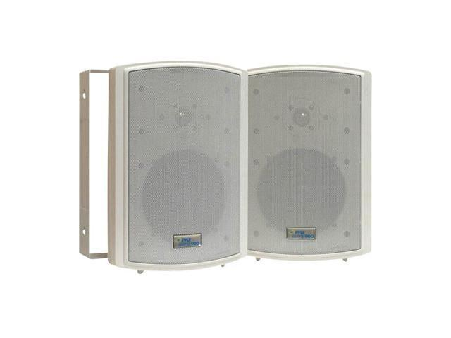 "PYLE PD-WR6T 2 CH 6.5"" Indoor/Outdoor Waterproof Speakers w/Transformer Pair"