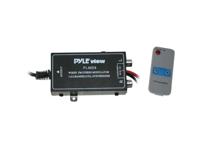 Pyle 110 Channel Wired FM Modulator w/ Digital Display