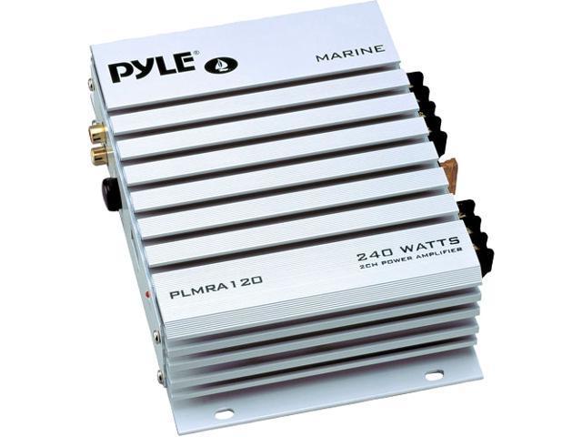 Pyle 2 Channel 240 Watt Waterproof Marine Amplifier