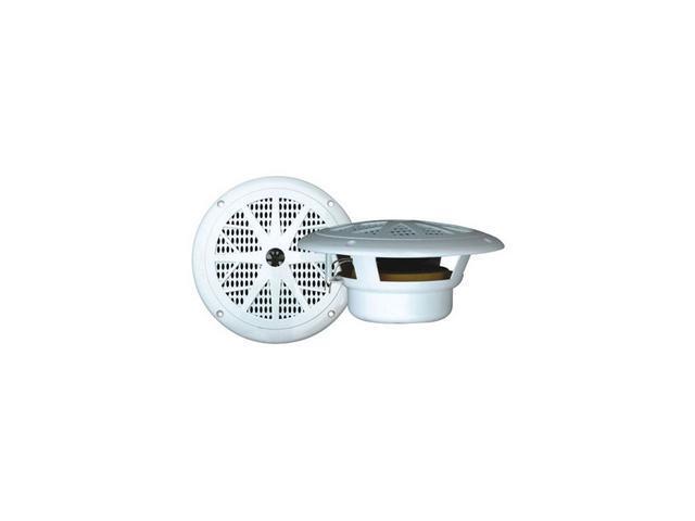 "Pyle 6.5"" 120W 2-Way White Marine Speaker"