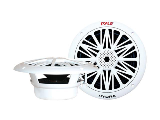 """PYLE 8"""" 300 Watts Peak Power 2-Way White Marine Speaker"""