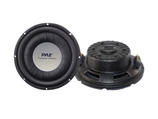 """PYLE 10"""" 1000W Ultra Slim Dual Voice Coil Car Subwoofer"""