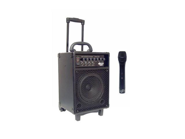 PylePro PWMA230 200W VHF Wireless Battery Powered PA System