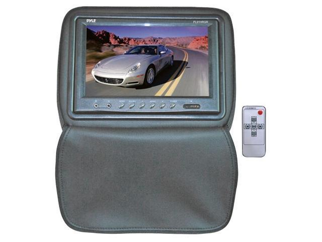 "PYLE 9"" Adjustable Headrest Monitor w/ IR Transmitter & Cover (Gray)"