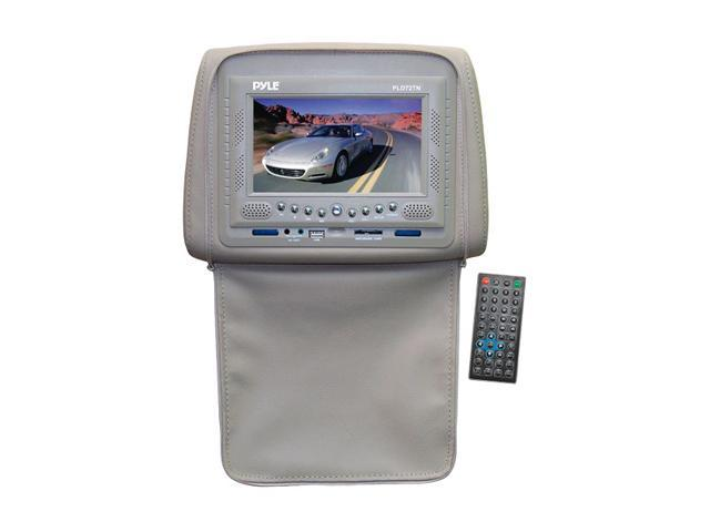 "PYLE 7"" Adjustable Headrest Monitor w/Built in DVD Player (Tan)"