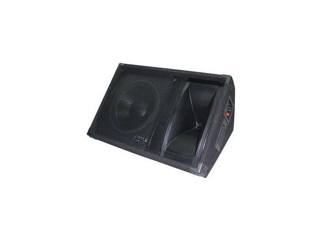 "PYLE 600 Watt 12"" Two-Way Stage Monitor Speaker System PASC12"