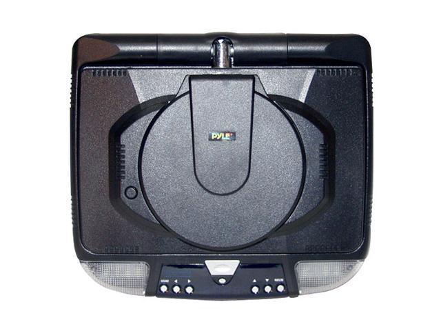 "PYLE 9"" Flip Down Monitor & DVD Player w/ FM Modulator/ IR Transmitter"