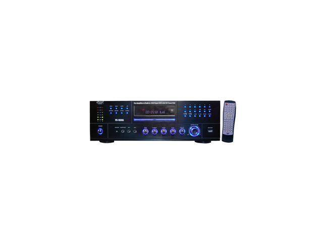 PYLE PD1000A 4-Channel 1000 Watt AM-FM Receiver w/ Built-in DVD/MP3/USB