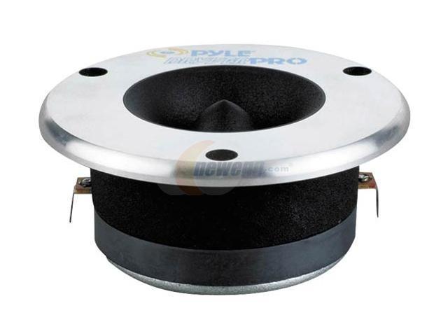 PYLE 3.75'' Aluminum Bullet Titanium Horn Tweeter