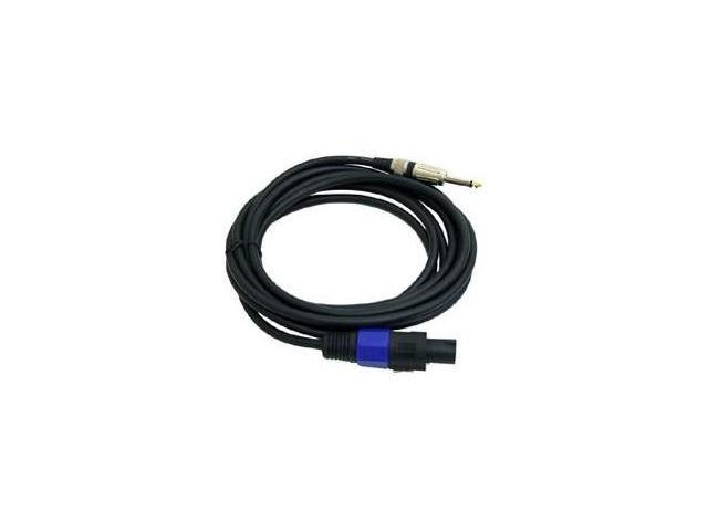 "Pyle PPSJ15 15ft. 12 Gauge Speaker Cable W/ Speakon to 1/4"" Male"