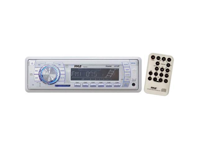 Pyle Marine Radio Receiver w/SD/MMC/USB & Weather Band