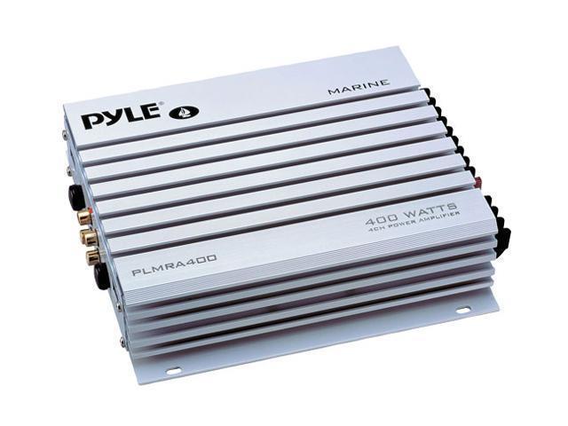 Pyle 4 Channel 400 Watt Waterproof Marine Amplifier