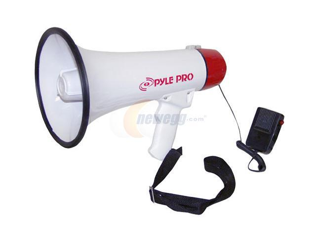 Pyle PMP40 Professional Megaphone / Bullhorn w/Siren and Handheled Mic