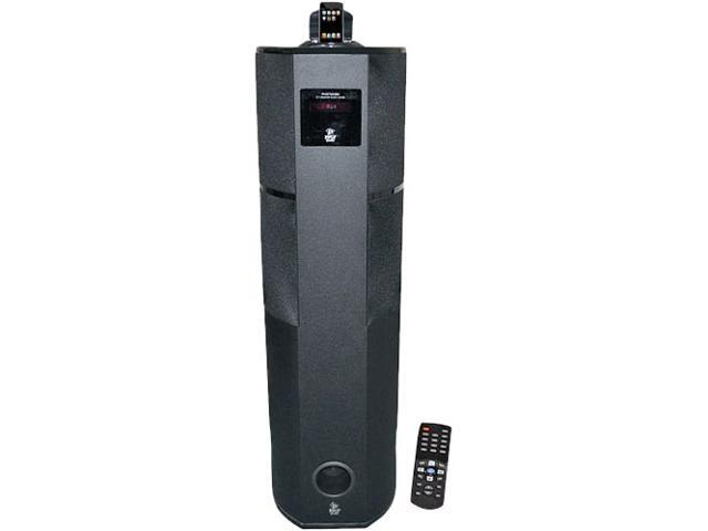 PYLE PHST92IBK 2.1 CH Home Theater Tower w/ iPod & iPhone Dock Single