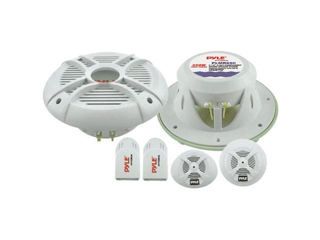 "Pyle 6.5"" 250 Watts 2-Way Marine Component System"