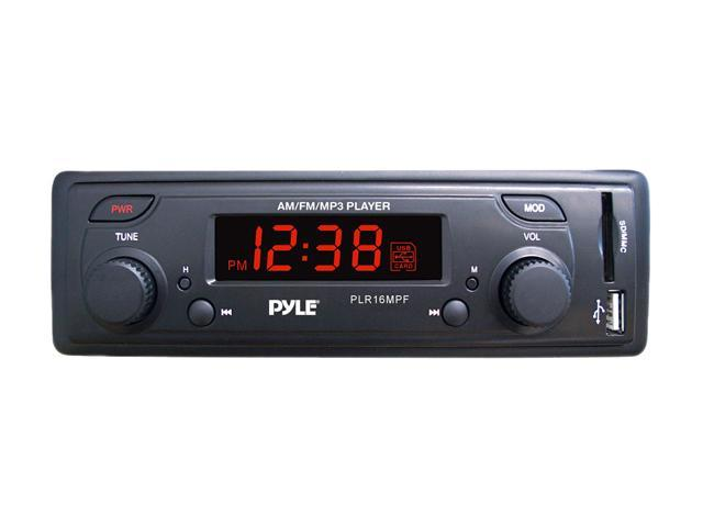 PYLE In-Dash AM/FM-MPX Receiver MP3 Playback with USB/SD Card