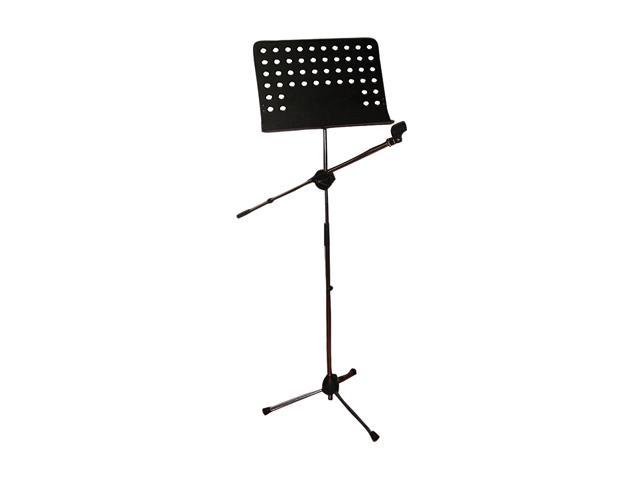 Pyle PMSM9 Heavy Duty Tripod Microphone And Music Note Stand