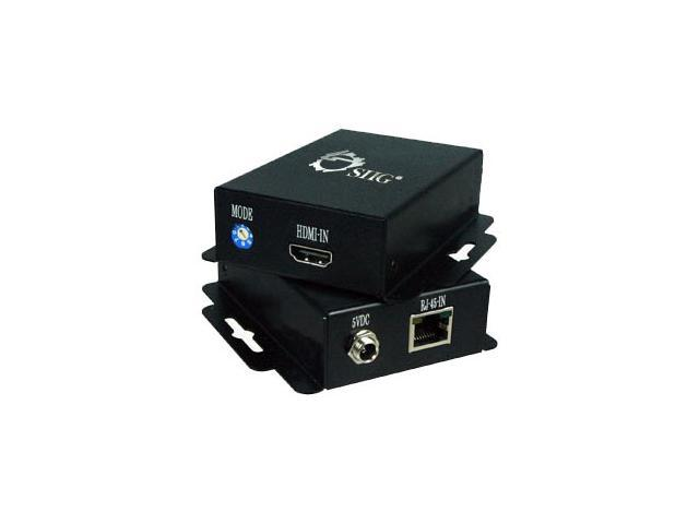 SIIG HDMI over 1-Cat5e Extender CE-H20F11-S1