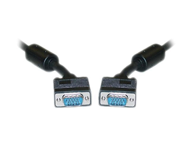 SIIG CB-VG0311-S1 15 ft. SVGA HD15 M/M Shielded Video Cable with Ferrite