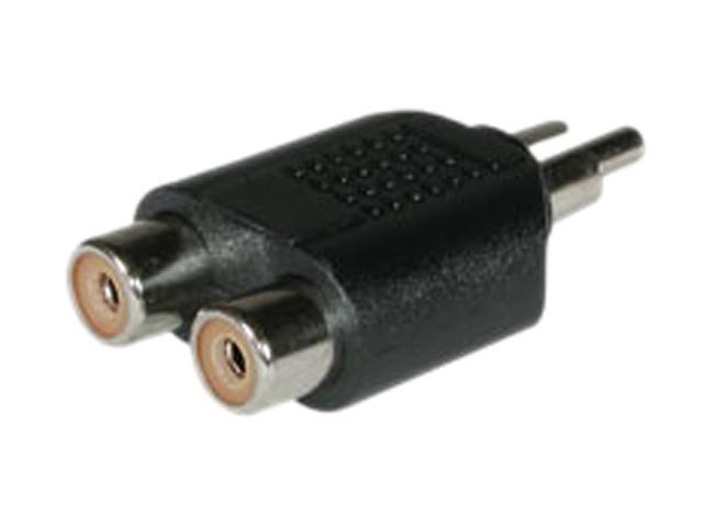 C2G 40650 One RCA Mono Male to Two RCA Mono Female Audio Adapter