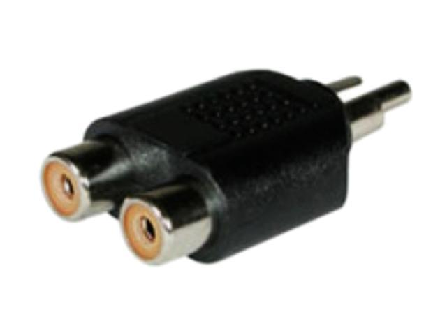 RCA Male To Dual RCA Female Adapter