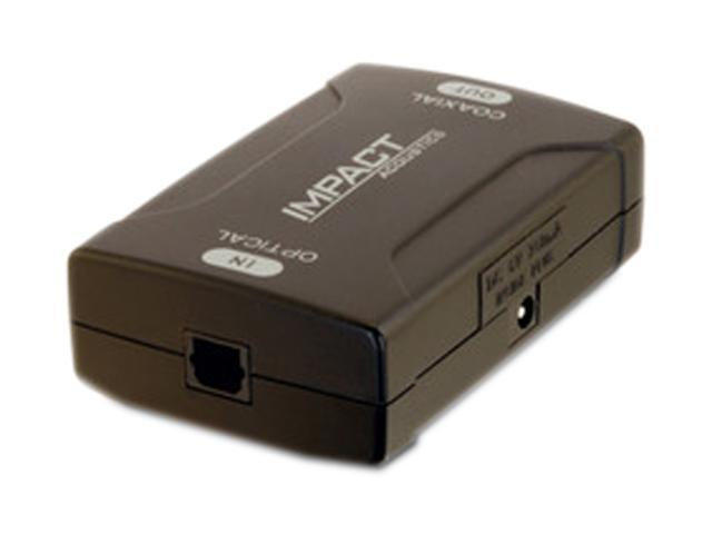 C2G 40019 Optical to Coaxial Digital Audio Converter (TAA Compliant)