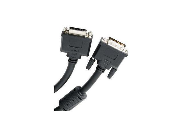 StarTech DVIDDMF10 Black 10 ft. F-M DVI Dual-Link Extension Cable