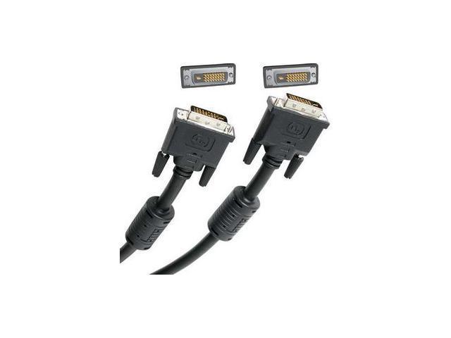 StarTech DVIDDMM15 Black 15 ft. M-M DVI Dual-Link Cable