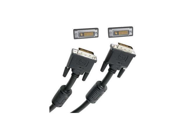 StarTech DVIIDMM10 Black 10 feet M-M DVI-I Dual Link Digital Analog Monitor Cable