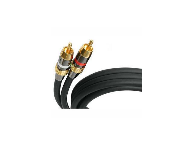 StarTech AUDIORCA10 10 ft [3.05 m] 10 ft Premium Stereo Audio Cable RCA - M/M M-M