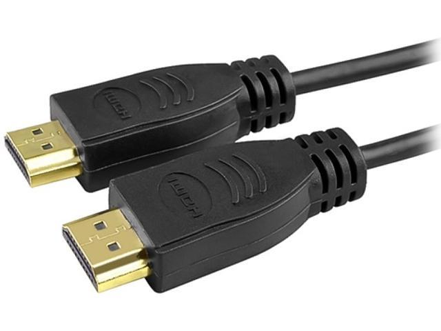 Insten 322970 15 ft. Black 2 x High Speed HDMI Cable with Ethernet M/M