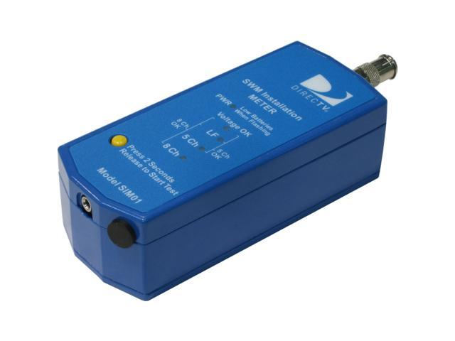 DIRECTV SIM01 Single Wire Multi-Switch SWM Installation Meter