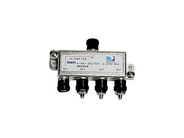 DIRECTV SPLIT4 4-Way Signal Splitter