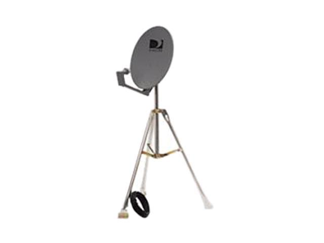 DIRECTV RVKIT18 18 Single Dish With Tripod And Hook Up Cables