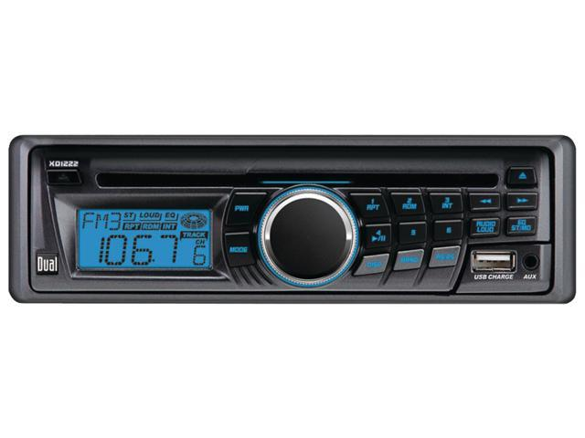 Dual CD Receiver with USB Charging Port Model XD1222