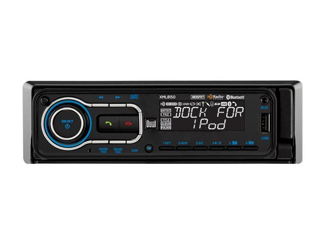 Dual In-Dash AM/FM/Bluetooth Receiver for iPod & iPhone